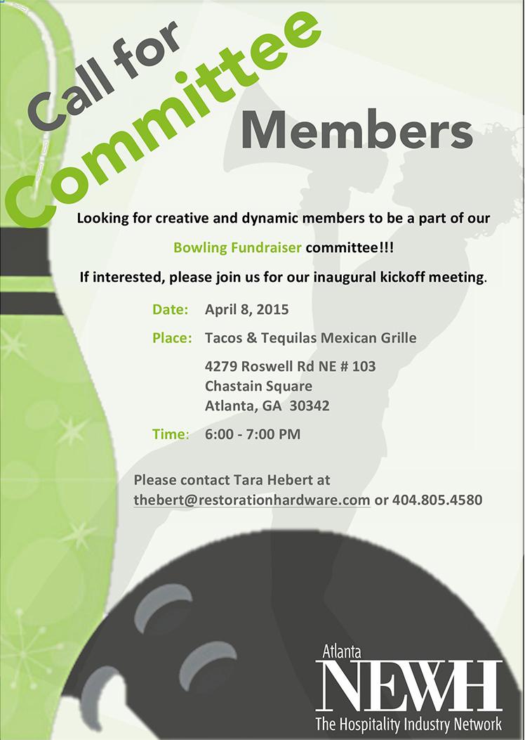 Atlanta Newh Bowling Committee Meeting Newh