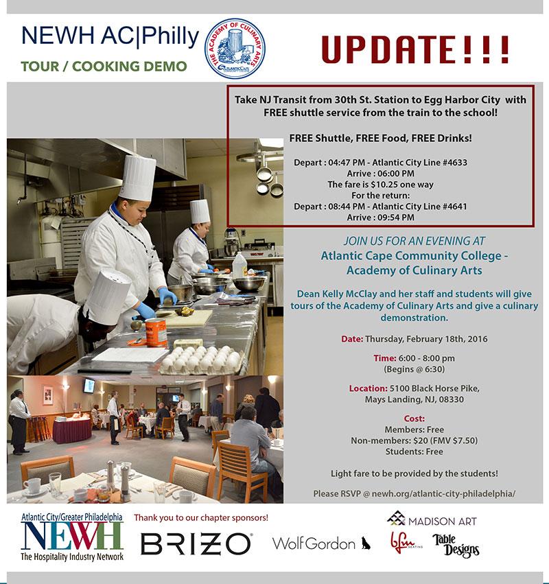 Atlantic City/Philadelphia NEWH Networking Event - NEWH
