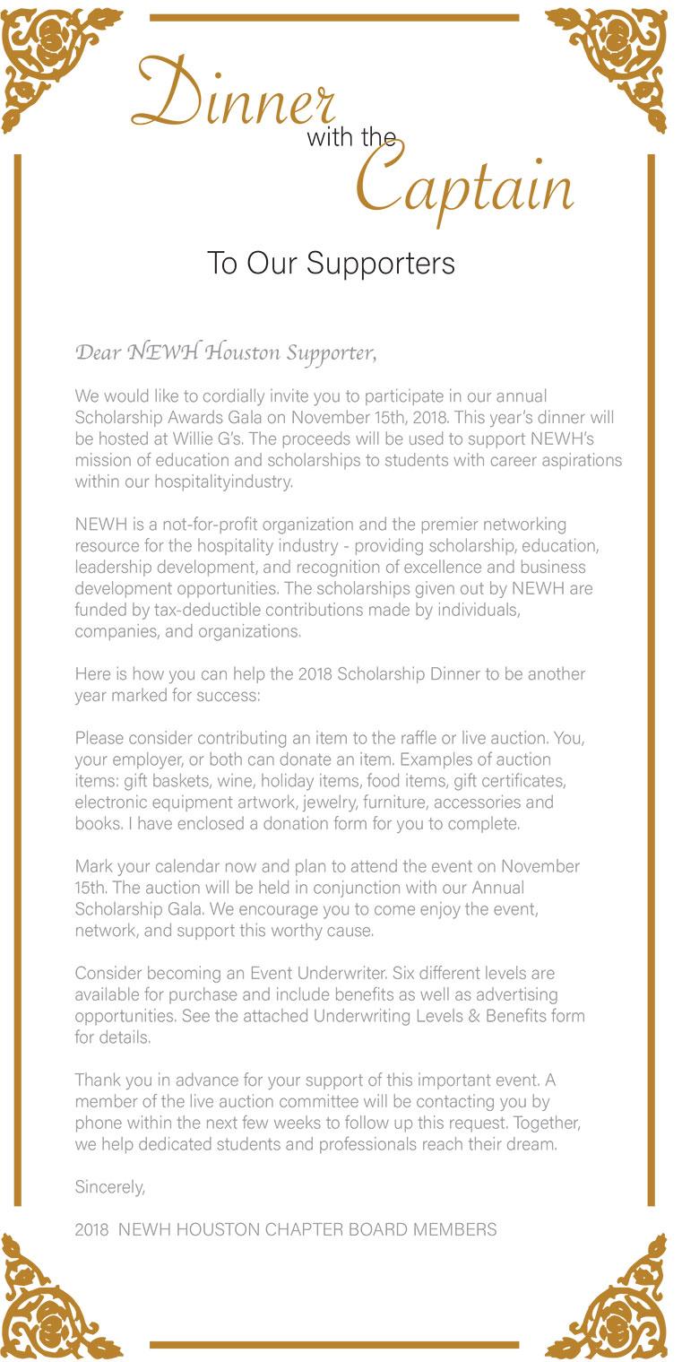 Houston Newh Fundraiser Scholarship Gala Newh