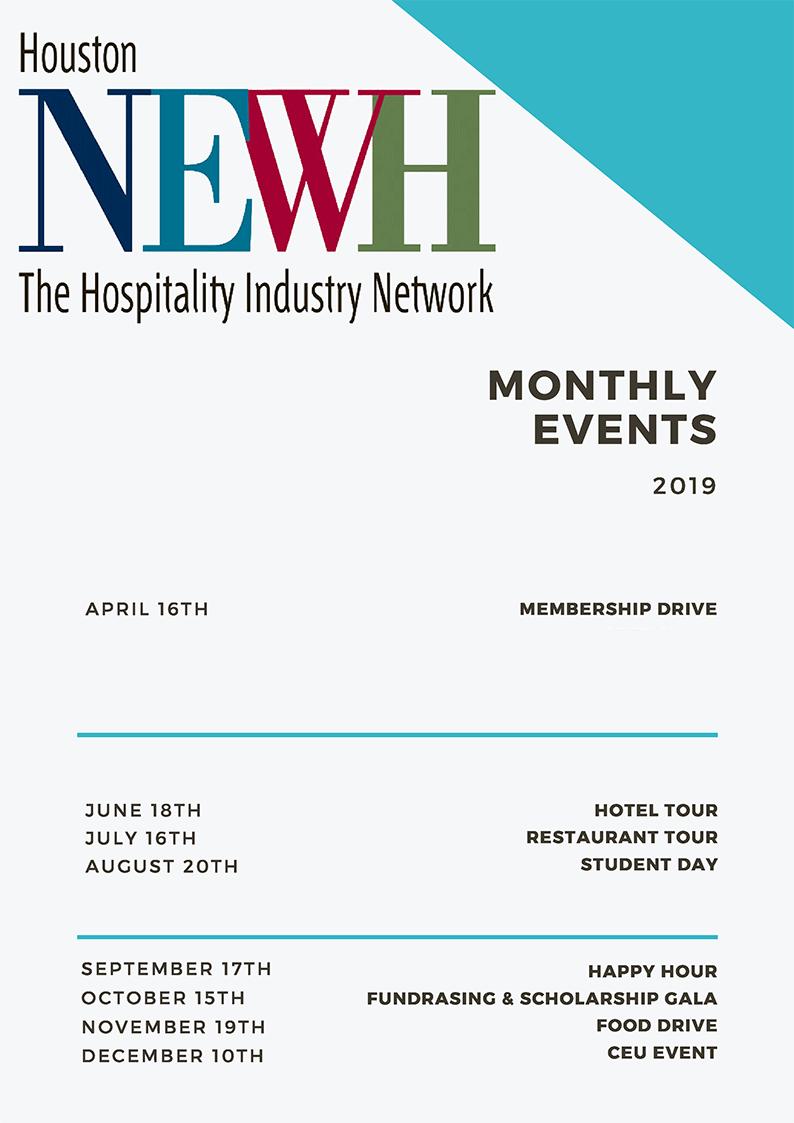 Houston Calendar Of Events 2019 Houston   NEWH