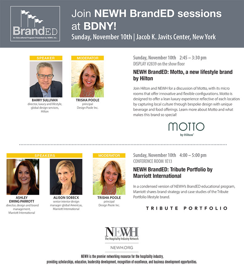 BrandED Sessions at BDNY - NEWH