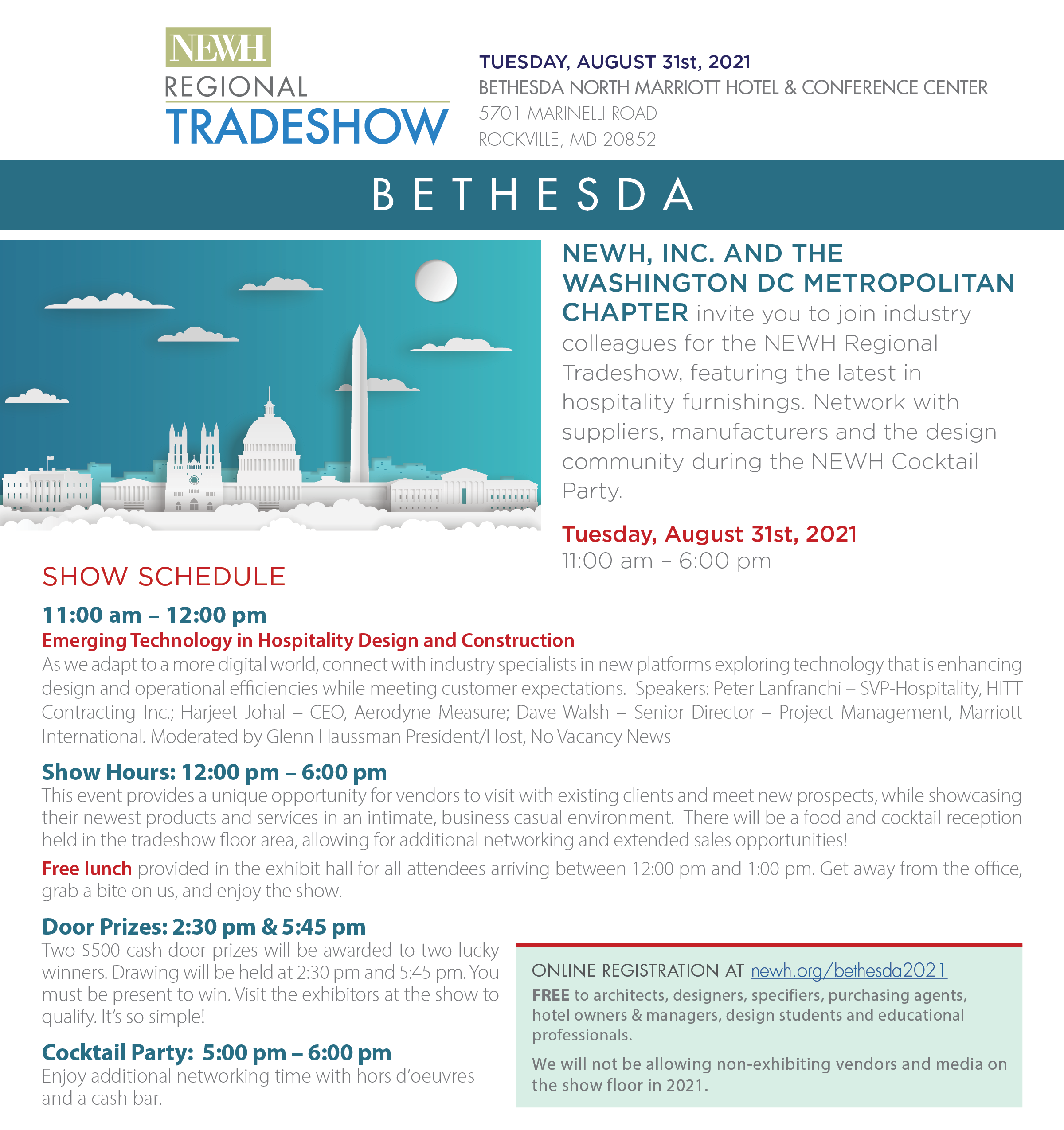 Bethesda Regional Tradeshow event information