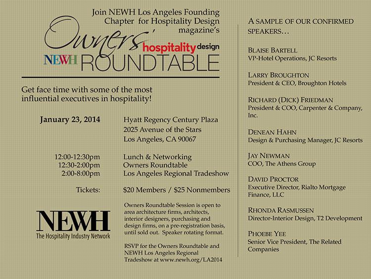 Los Angeles Newh Regional Tradeshow Newh
