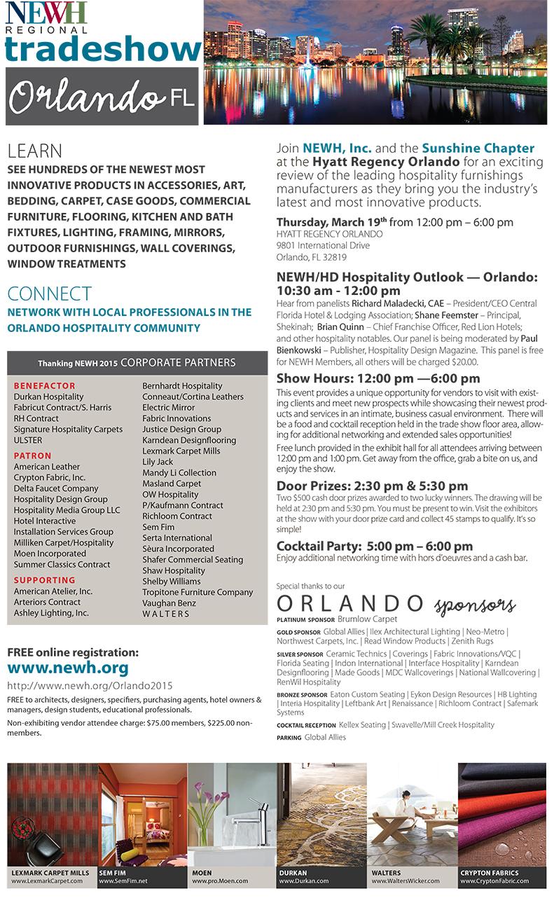 Orlando NEWH Regional Tradeshow - NEWH